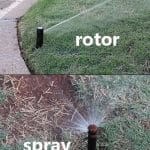 sprinkler head types